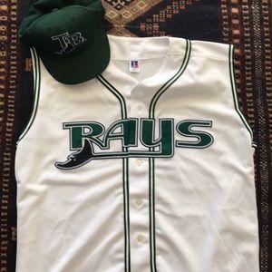 Tampa Bay Devils Rays 2005-07 Home Vest